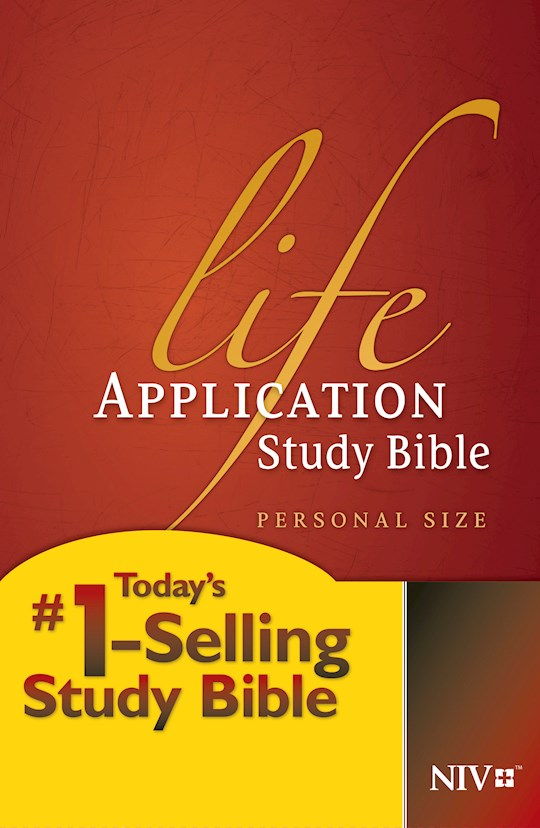 NIV Life Application Study Bible/Personal Size-Hardcover | SHOPtheWORD