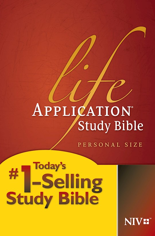 NIV Life Application Study Bible/Personal Size-Softcover | SHOPtheWORD