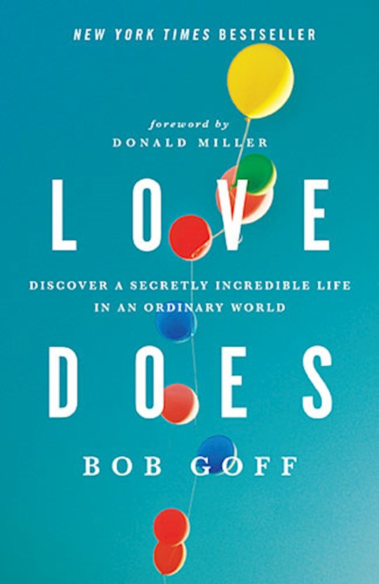 Love Does by Bob Goff | SHOPtheWORD