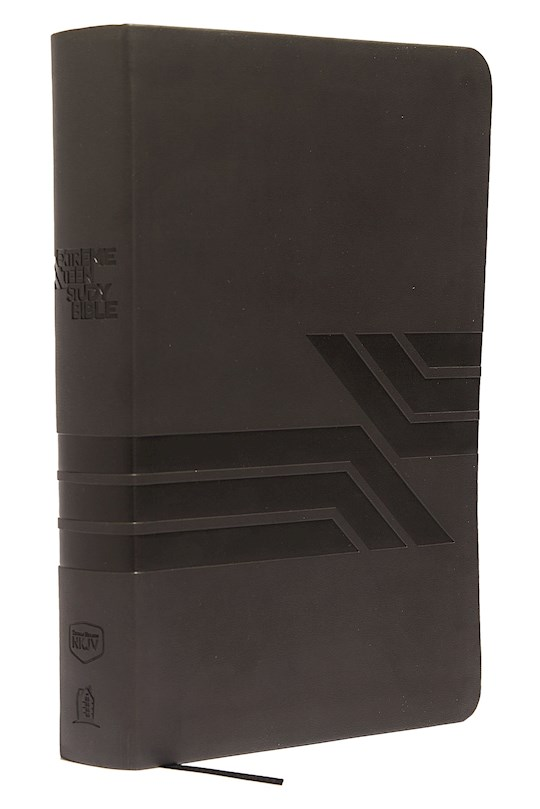 NKJV Extreme Teen Study Bible-Charcoal LeatherSoft | SHOPtheWORD