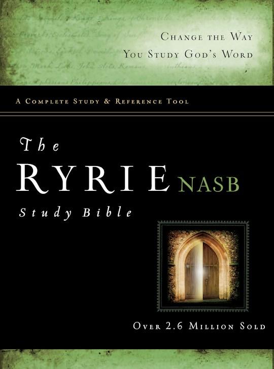 NASB Ryrie Study Bible-Hardcover | SHOPtheWORD