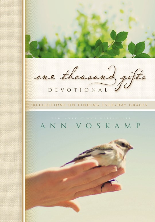 One Thousand Gifts Devotional by Ann Voskamp | SHOPtheWORD