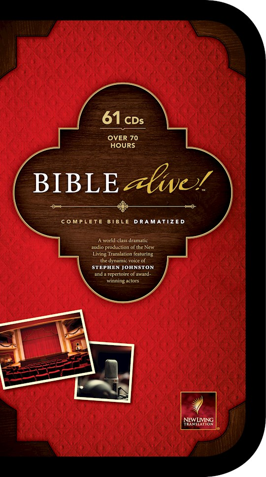 Audio CD-NLT Bible Alive! Complete-Dramatized (61 CD) | SHOPtheWORD
