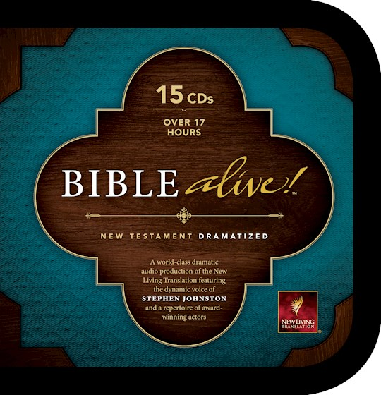 Audio CD-NLT Bible Alive! New Testament-Dramatized (15 CD) | SHOPtheWORD