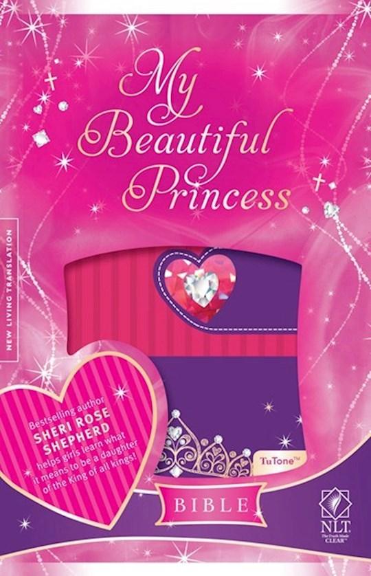 NLT My Beautiful Princess Bible-Pink/Purple TuTone | SHOPtheWORD