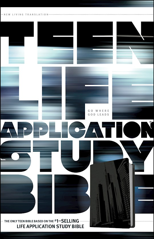 NLT Teen Life Application Study Bible-Steel City LeatherLike | SHOPtheWORD