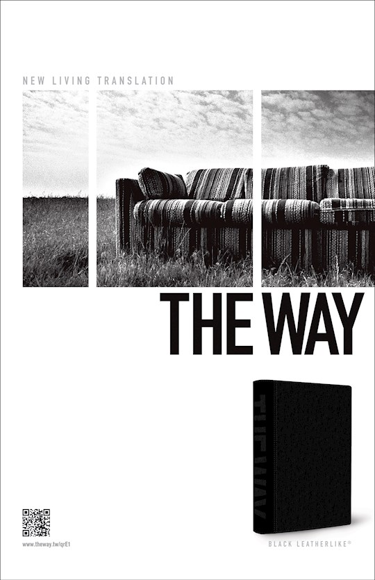 NLT The Way-Deluxe Black LeatherLike | SHOPtheWORD