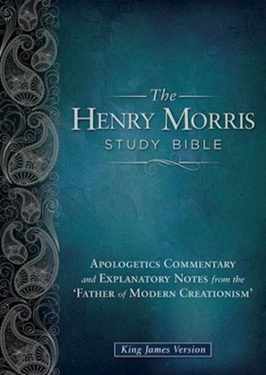 KJV Henry Morris Study Bible-Hardcover    SHOPtheWORD