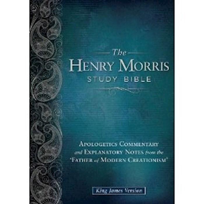 KJV Henry Morris Study Bible-Black Genuine  | SHOPtheWORD
