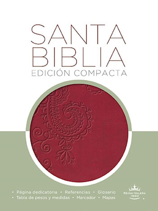 Span-RVR 1960 Compact Bible-Ruby LeatherSoft | SHOPtheWORD