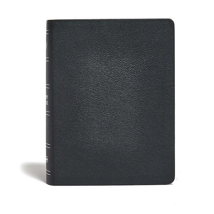 KJV Study Bible (Full-Color)-Black Genuine Leather Indexed | SHOPtheWORD