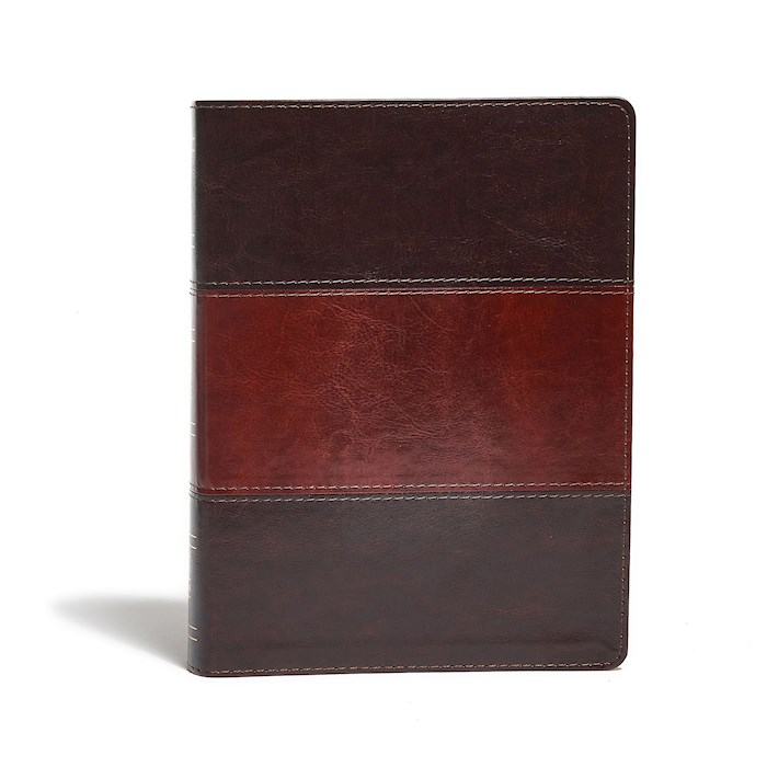 KJV Study Bible (Full-Color)-Saddle Brown LeatherTouch   SHOPtheWORD