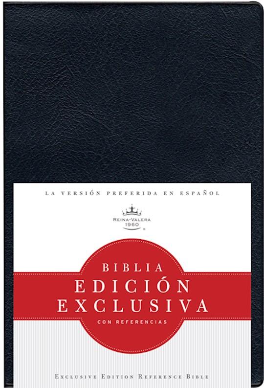 Span-RVR 1960 Exclusive Edition W/Reference (Biblia Edicion Exclusiva con Referencias)-Black Vinyl | SHOPtheWORD