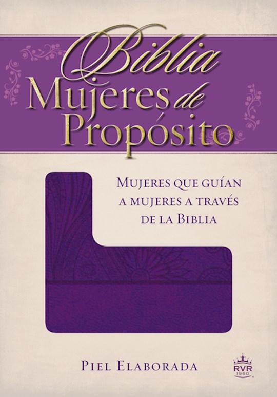 Span-RVR 1960 Women Of Destiny Bible-Purple LeatherSoft | SHOPtheWORD