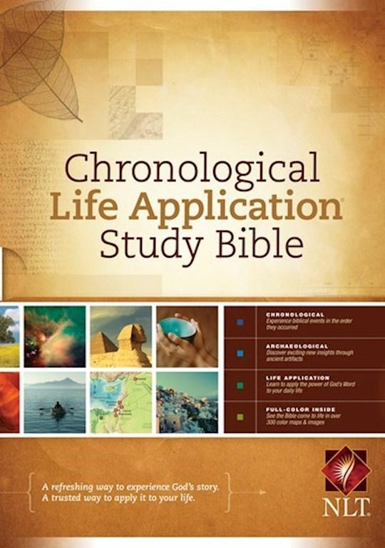 NLT Chronological Life Application Study Bible-Hardcover   SHOPtheWORD