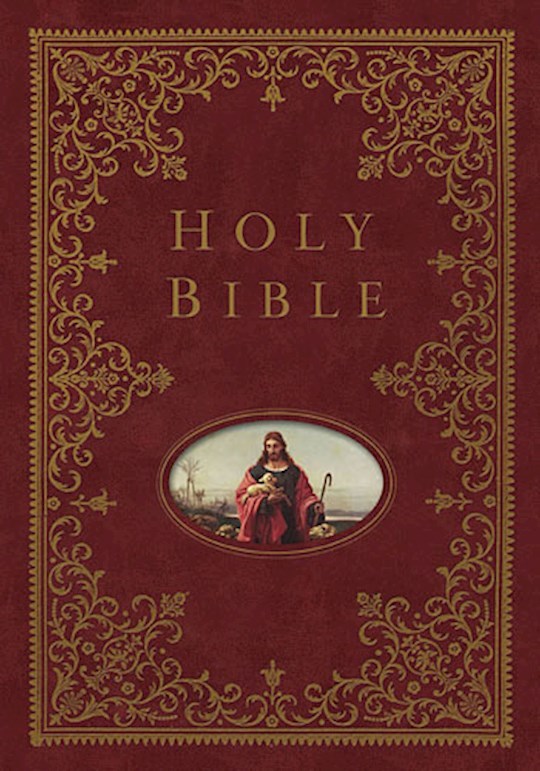 NKJV Providence Collection Family Bible-Burgundy Hardcover | SHOPtheWORD