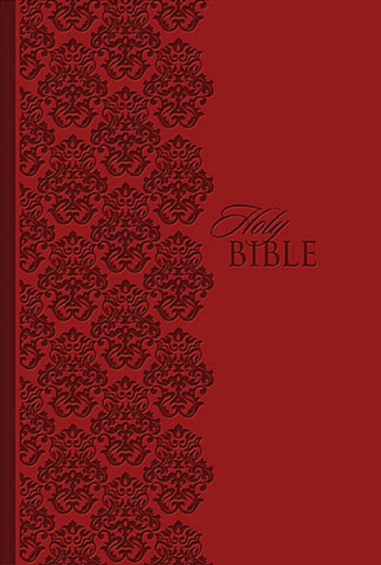 KJV King James Study Bible/Personal Size-Ruby LeatherSoft | SHOPtheWORD