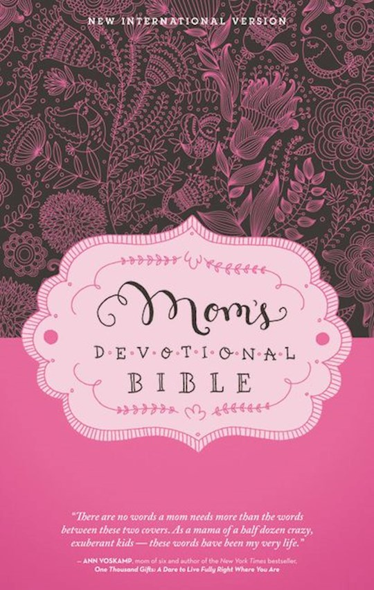 NIV Mom's Devotional Bible-Hardcover | SHOPtheWORD