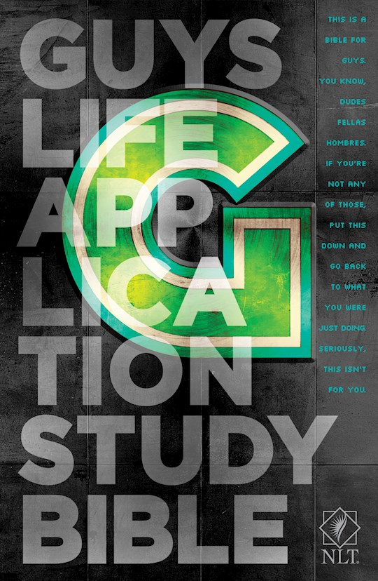 NLT Guys Life Application Study Bible-Hardcover | SHOPtheWORD