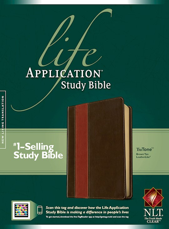 NLT Life Application Study Bible (Second Edition)-Brown/Tan TuTone Indexed | SHOPtheWORD