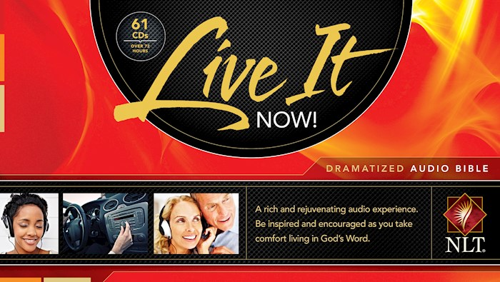 Audio CD-NLT Live It Now! Complete-Dramatized (61 CD) | SHOPtheWORD