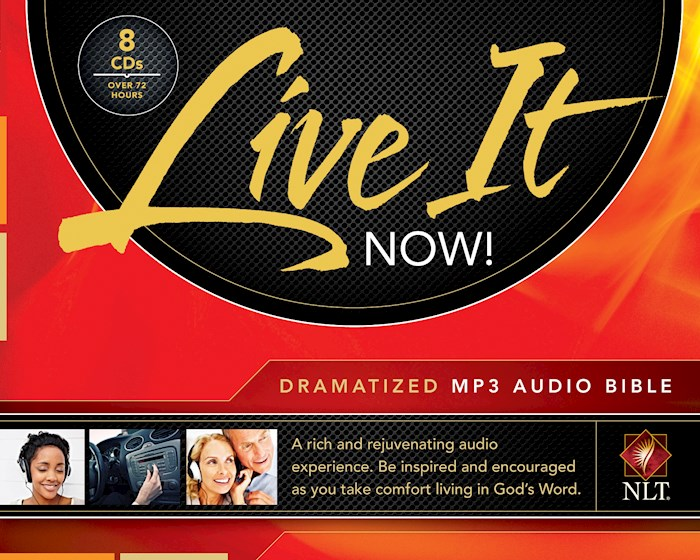 Audio CD-NLT Live It Now! Complete-Dramatized (8 MP3) | SHOPtheWORD