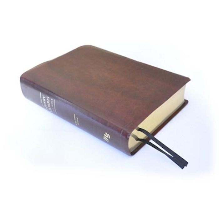 KJV Henry Morris Study Bible-Brown Imitation Leather | SHOPtheWORD