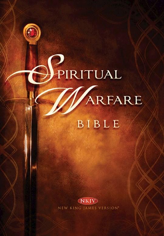 Span-RVR 1960 Spiritual Warfare Bible-Tan Imitation Leather | SHOPtheWORD