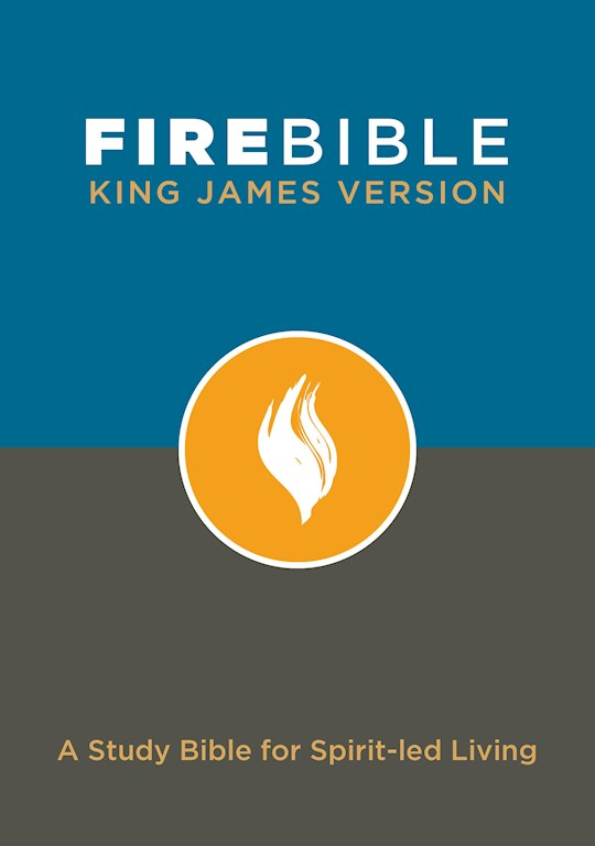 KJV Fire Bible-Hardcover | SHOPtheWORD