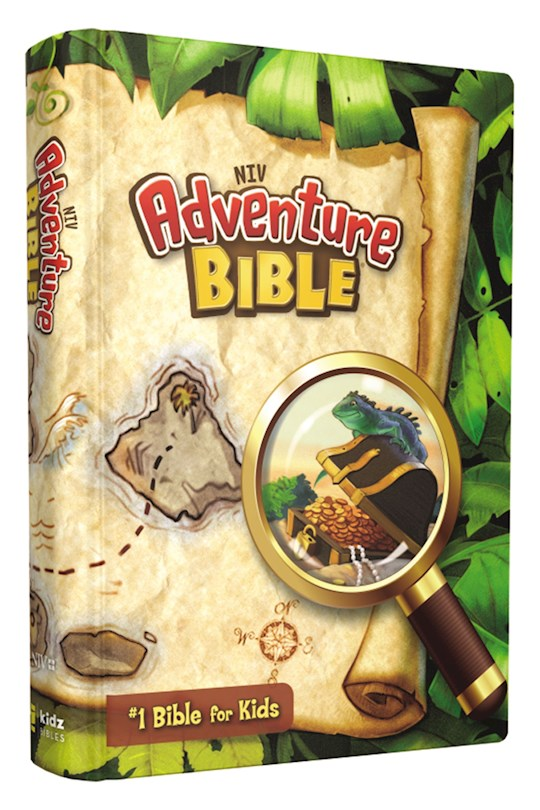 NIV Adventure Bible (Full Color)-Hardcover | SHOPtheWORD