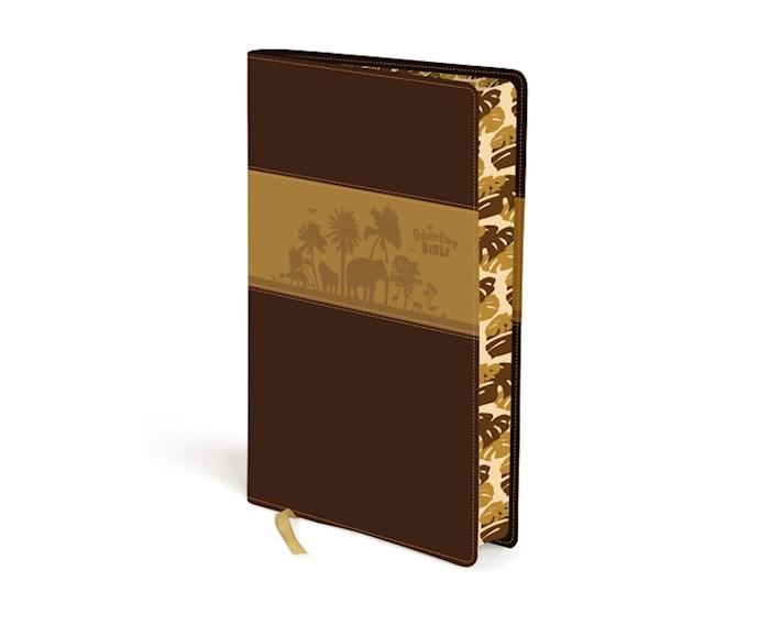 NIV Adventure Bible (Full Color)-Chocolate/Toffee Duo-Tone | SHOPtheWORD