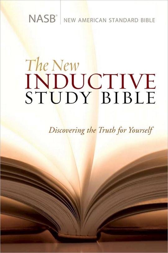 NASB New Inductive Study Bible-Hardcover | SHOPtheWORD