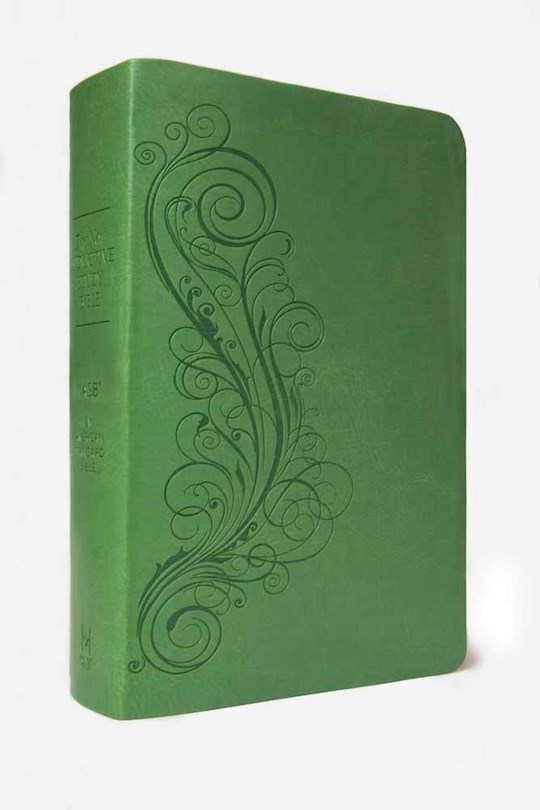 NASB New Inductive Study Bible-Green Milano Softone | SHOPtheWORD
