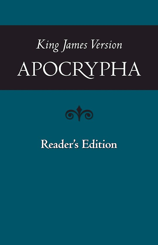 KJV Apocrypha Readers Edition-Softcover | SHOPtheWORD