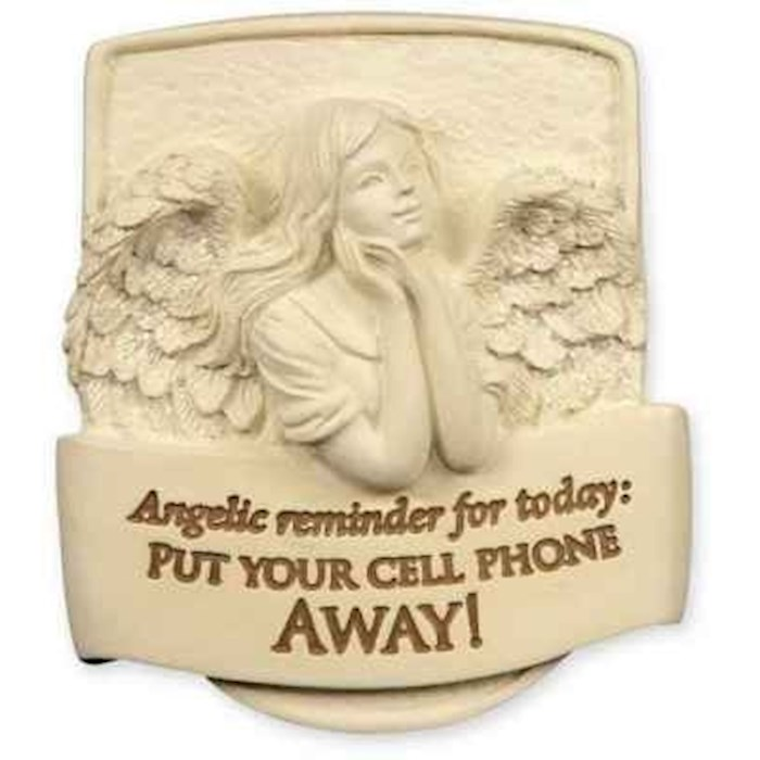 Visor Clip-Angel-Put Your Cell Phone Away | SHOPtheWORD