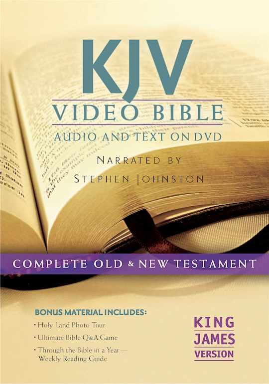 KJV Video Bible: Audio and Text On DVD (Dramatized) (Value Price) | SHOPtheWORD