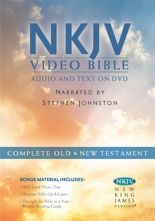 NKJV Video Bible: Audio And Text On DVD (Dramatized) (Value Price)   SHOPtheWORD
