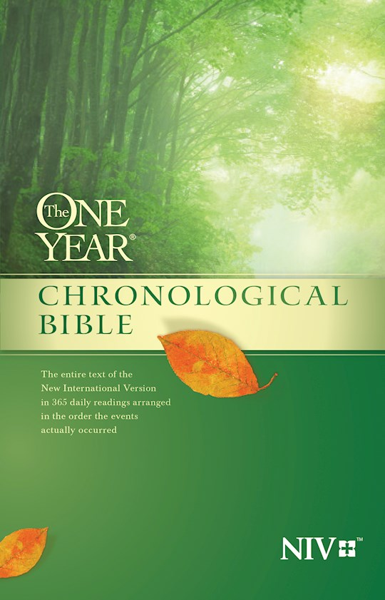 NIV One Year Chronological Bible (Repack)-Softcover | SHOPtheWORD