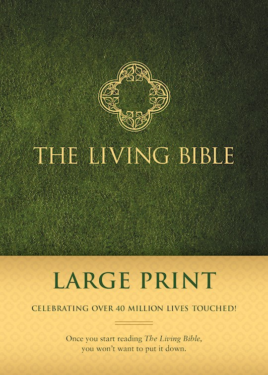 TLB The Living Bible/Large Print-Hardcover | SHOPtheWORD