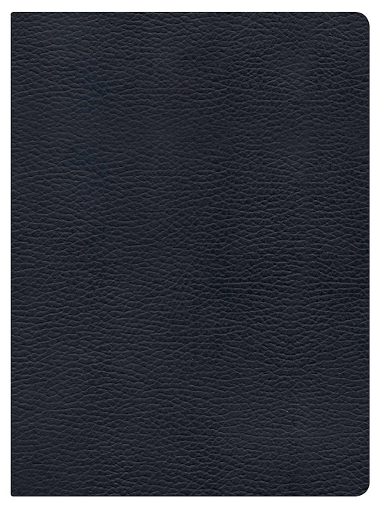 NKJV Holman Study Bible (Full Color)-Black Genuine Leather Indexed | SHOPtheWORD