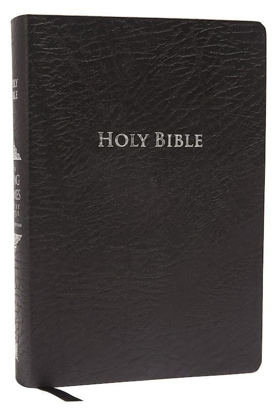 KJV King James Study Bible (Second Edition)-Black Bonded Leather | SHOPtheWORD