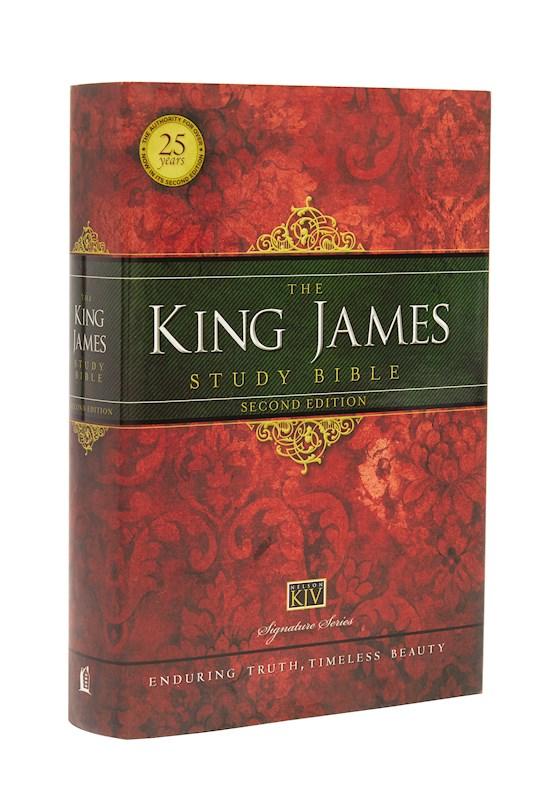 KJV King James Study Bible (Second Edition)-Hardcover | SHOPtheWORD