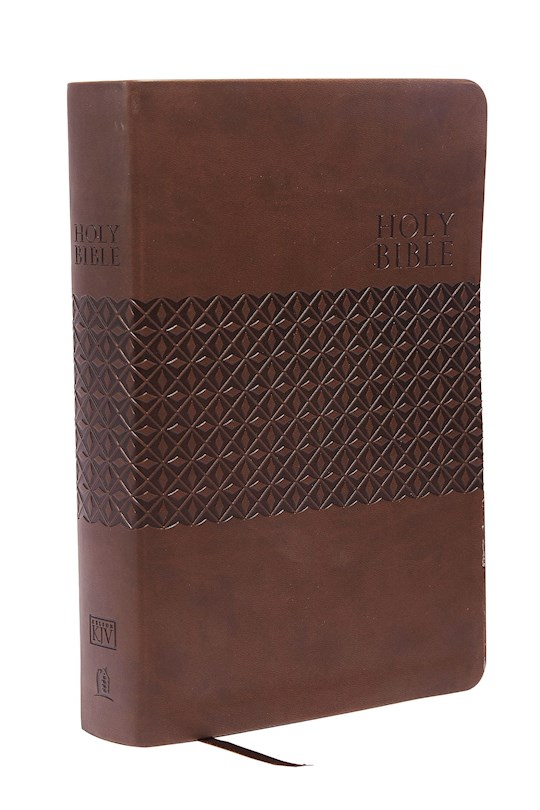 KJV King James Study Bible (Second Edition)-Earth Brown LeatherSoft | SHOPtheWORD