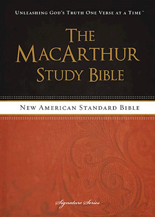 NASB MacArthur Study Bible-Hardcover | SHOPtheWORD