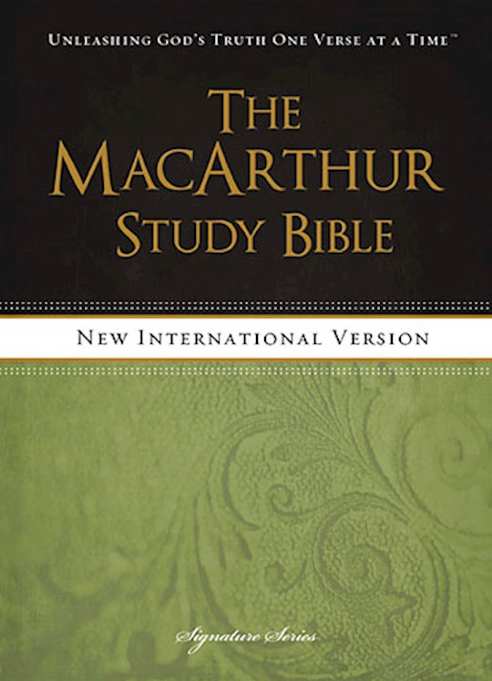 NIV Macarthur Study Bible-Hardcover   SHOPtheWORD