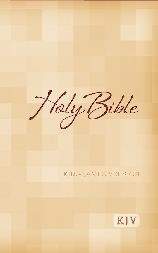 KJV Large Print Bible-Softcover   SHOPtheWORD