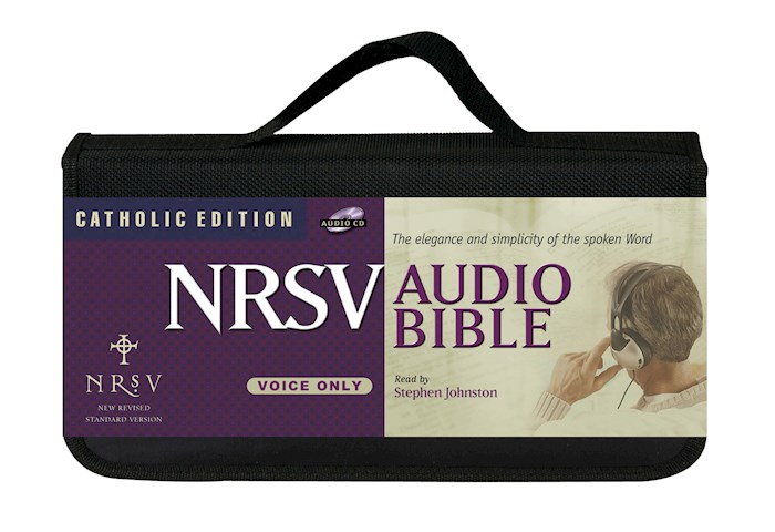 Audio CD-NRSV Complete Bible: Catholic Edition (Voice Only) (65 CD) | SHOPtheWORD