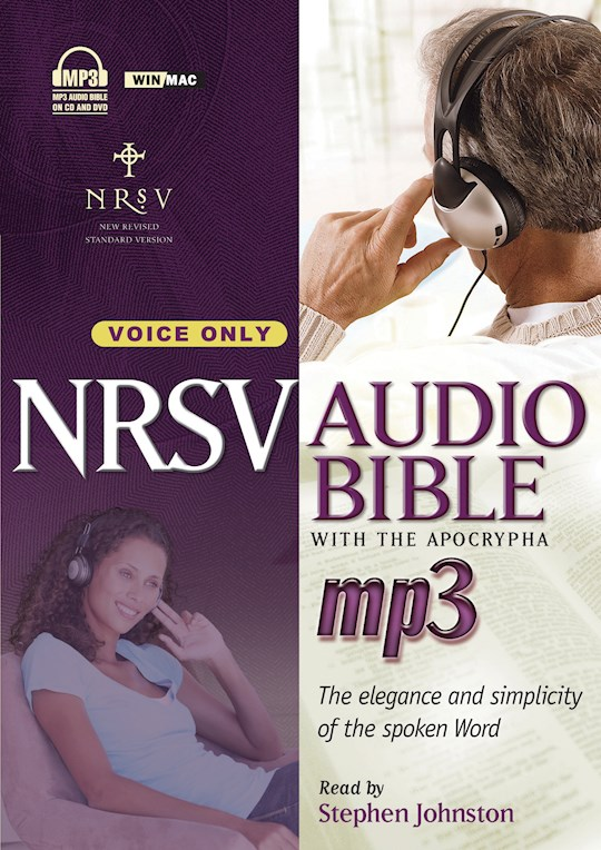 Audio CD-NRSV Complete Bible w/Apocrypha On MP3 (Voice Only) (DVD + 4 CD) | SHOPtheWORD