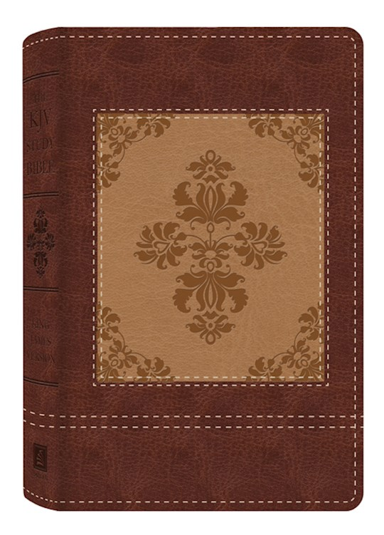 KJV Study Bible-Heritage Edition-Brown/Cream DiCarta | SHOPtheWORD