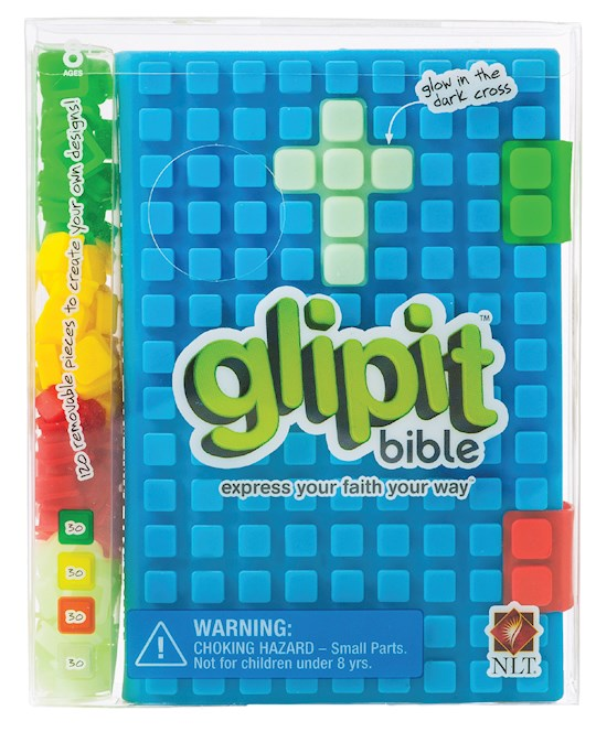 NLT Glipit Bible-Blue Silicone | SHOPtheWORD